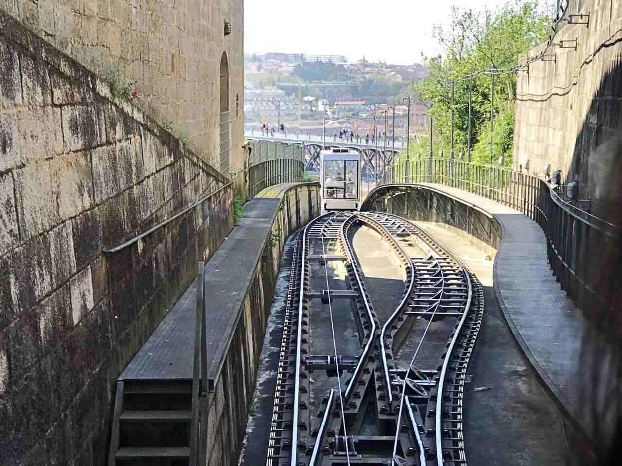 Funicular dos Guindais - O que fazer em Porto Portugal