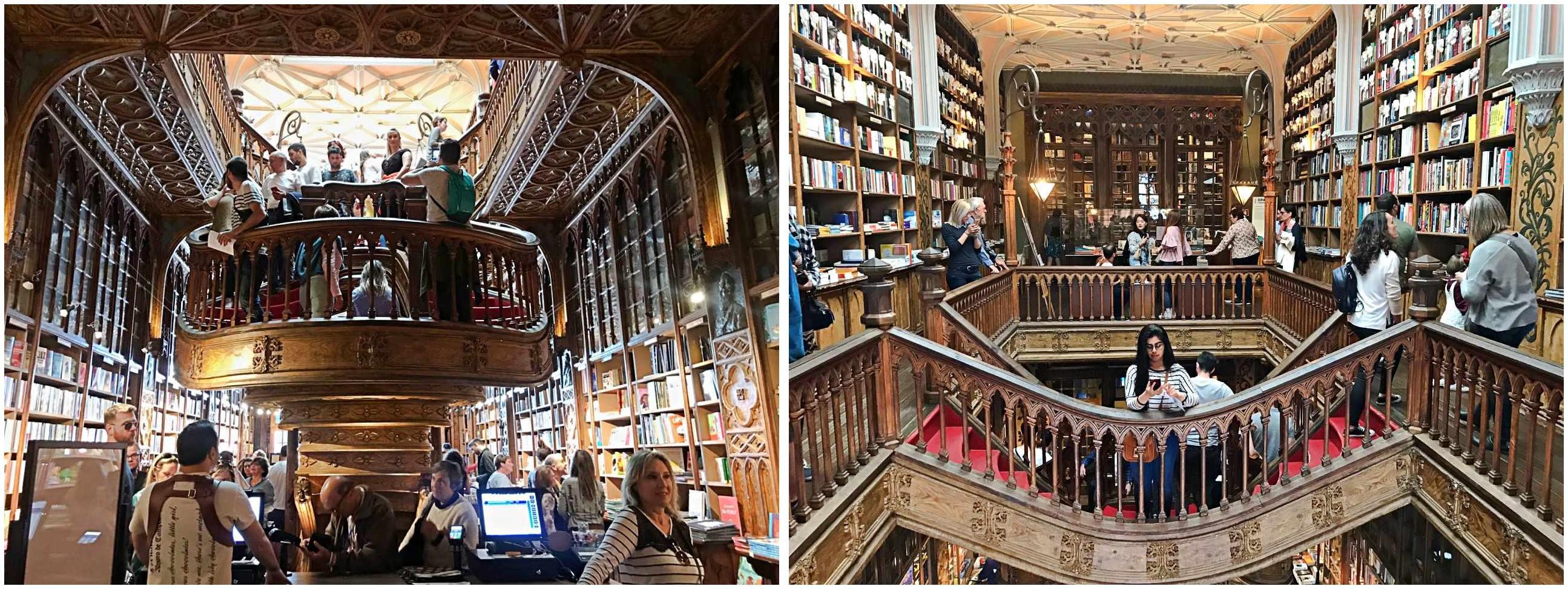 Livraria Lello - O que fazer em Porto Portugal