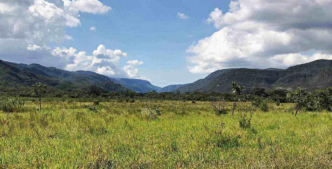 Paisagem Parque Nacional Serra do Cipó