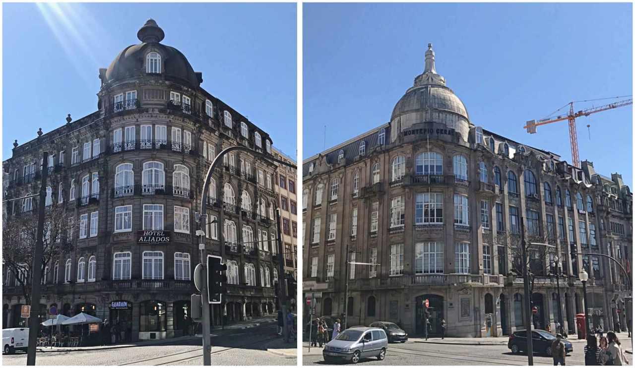 Avenida dos Aliados - o que fazer em Porto Portugal