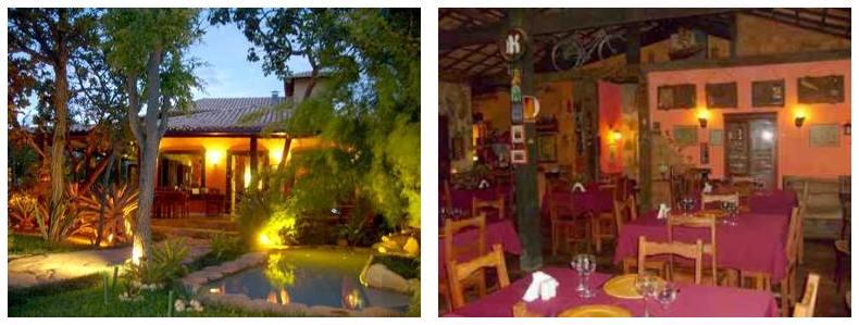 Serra do Cipo - restaurante Parador Nacional