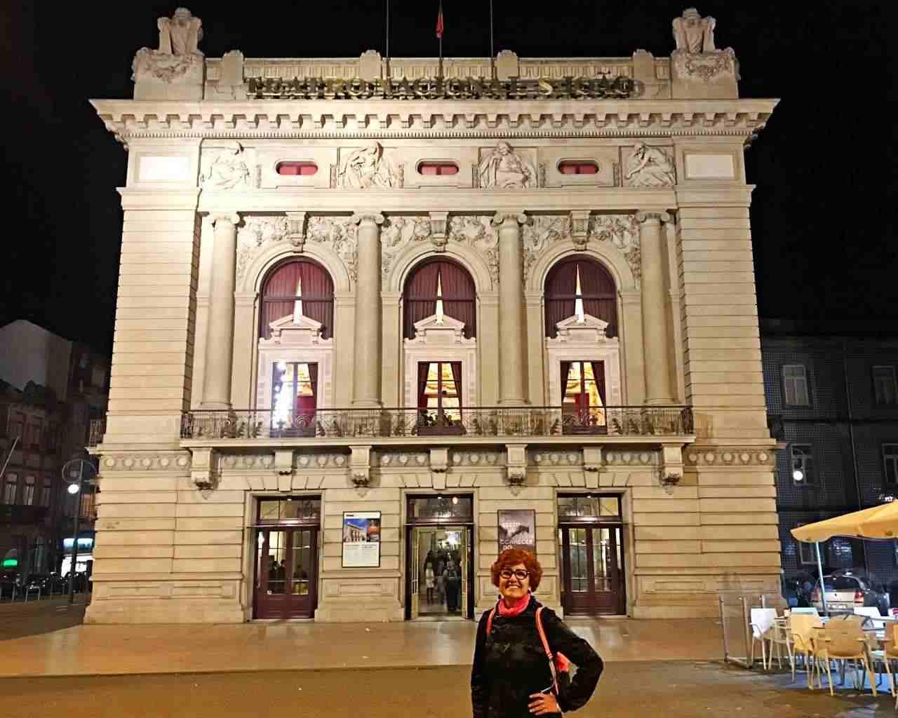 Teatro Nacional - O que fazer em Porto Portugal