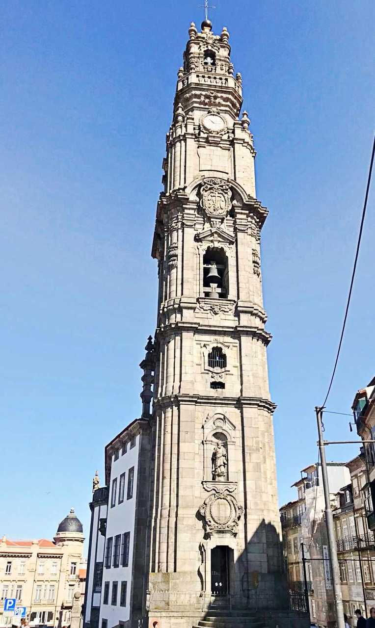 Torre do Clérigos - o que fazer em Porto Portugal
