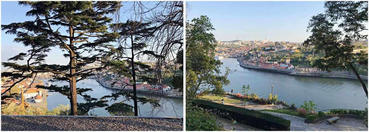 Vista do Douro a partir dos jardins do Palácio de Cristal