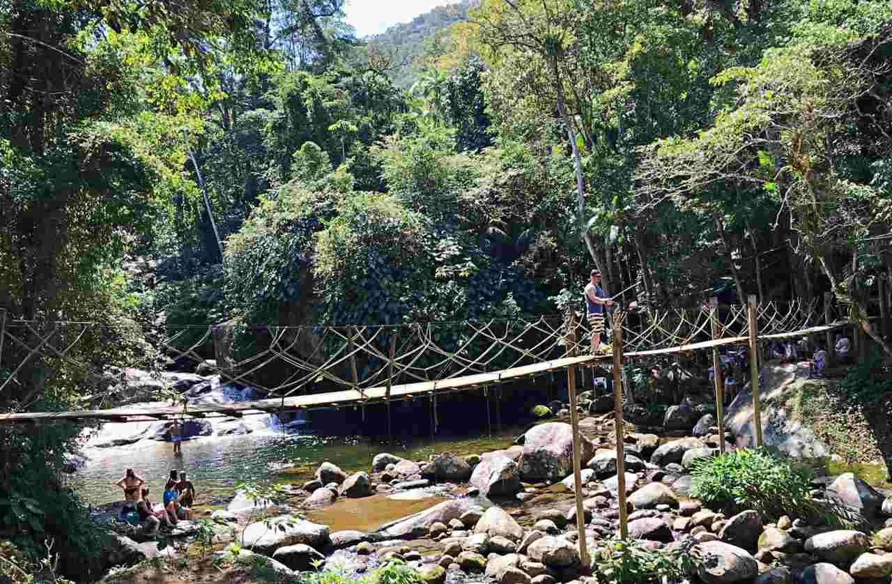 Cachoeira do Tarzan Paraty