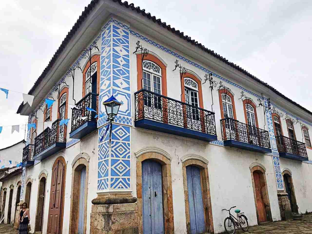 Casa colonial, simbolo maçom