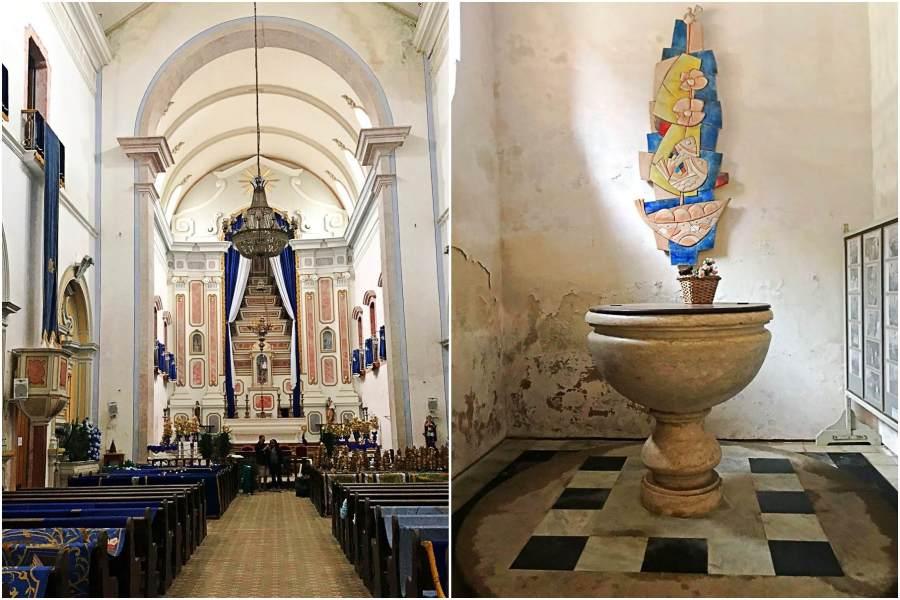 Igreja Matriz de Paraty interior