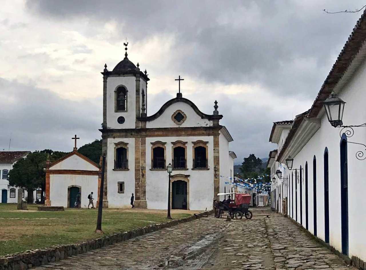 Igreja Santa Rita de Cássia Paraty