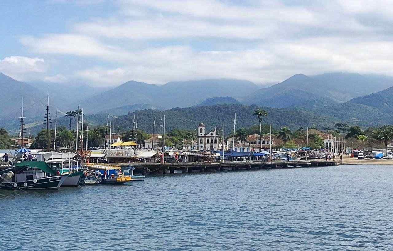 Vista do Pier de Paraty