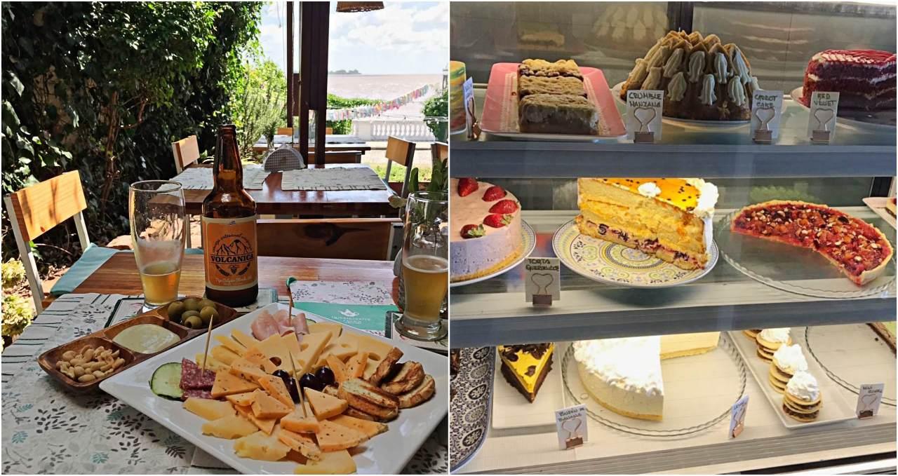 Querendo Casa de Chá e lanches - onde comer em Colonia del Sacramento
