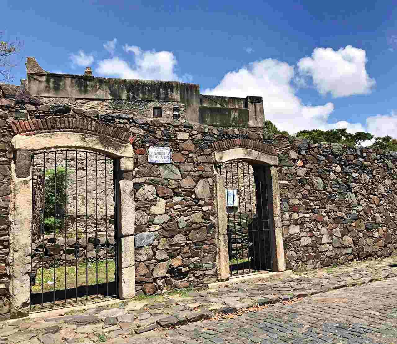 Construção em pedra, época colonial