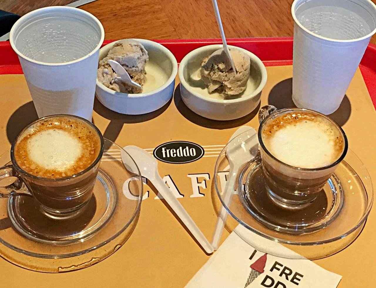 Café Freddo onde comer em Colonia del Sacramento