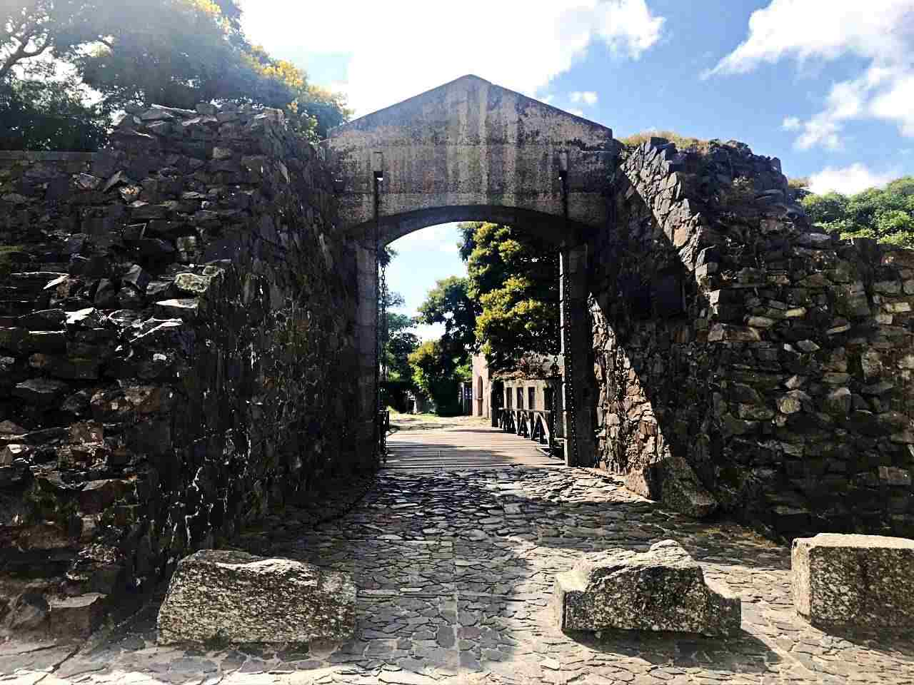 Porta Bairro Histórico Colonia del Sacramento