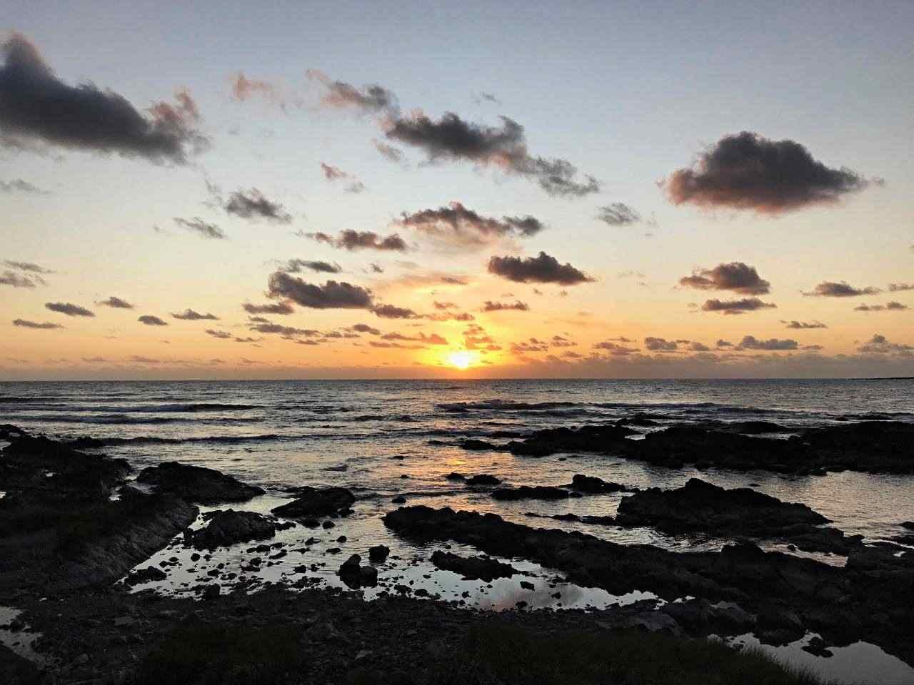 Pôr-do-sol em Punta del Este - Uruguai