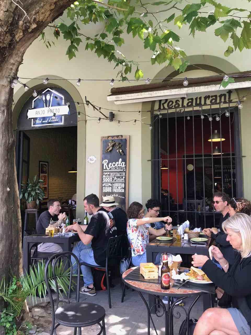 Restaurante Anjo Preto, Colonia del Sacramento