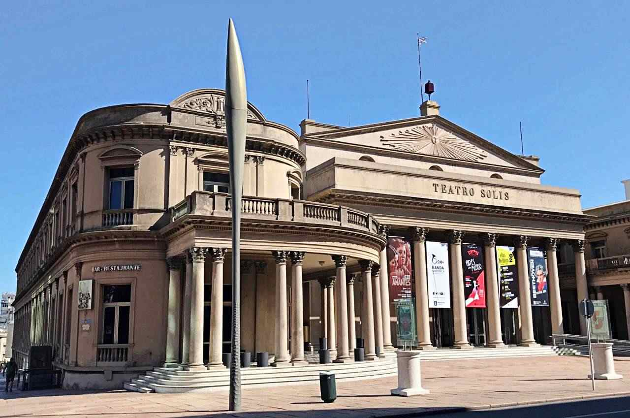 Teatro Solis Praça da Independência Montevideo