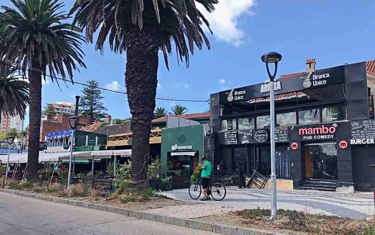 Restaurantes e Night Clubes no Porto de Punta del Este