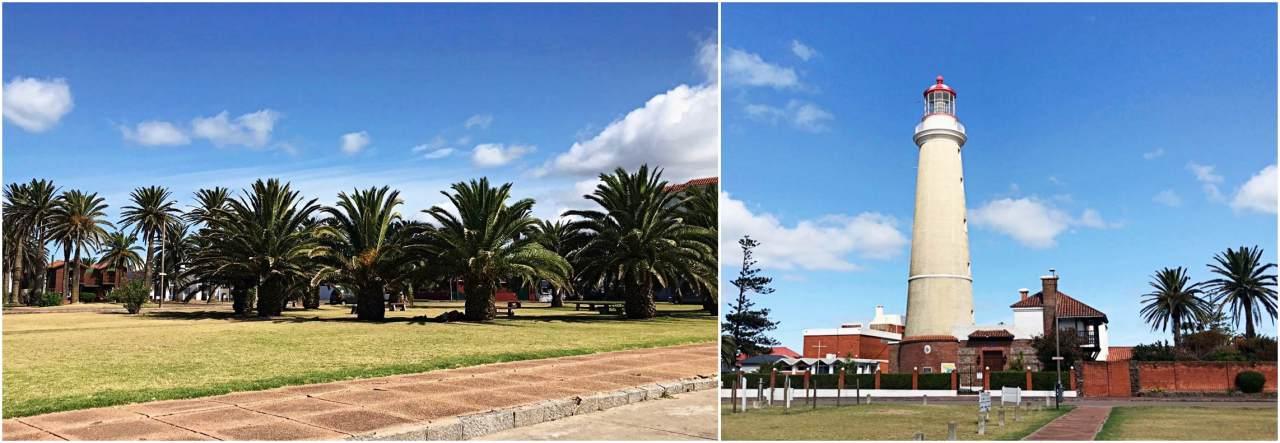 Farol de Punta del Este e Praça