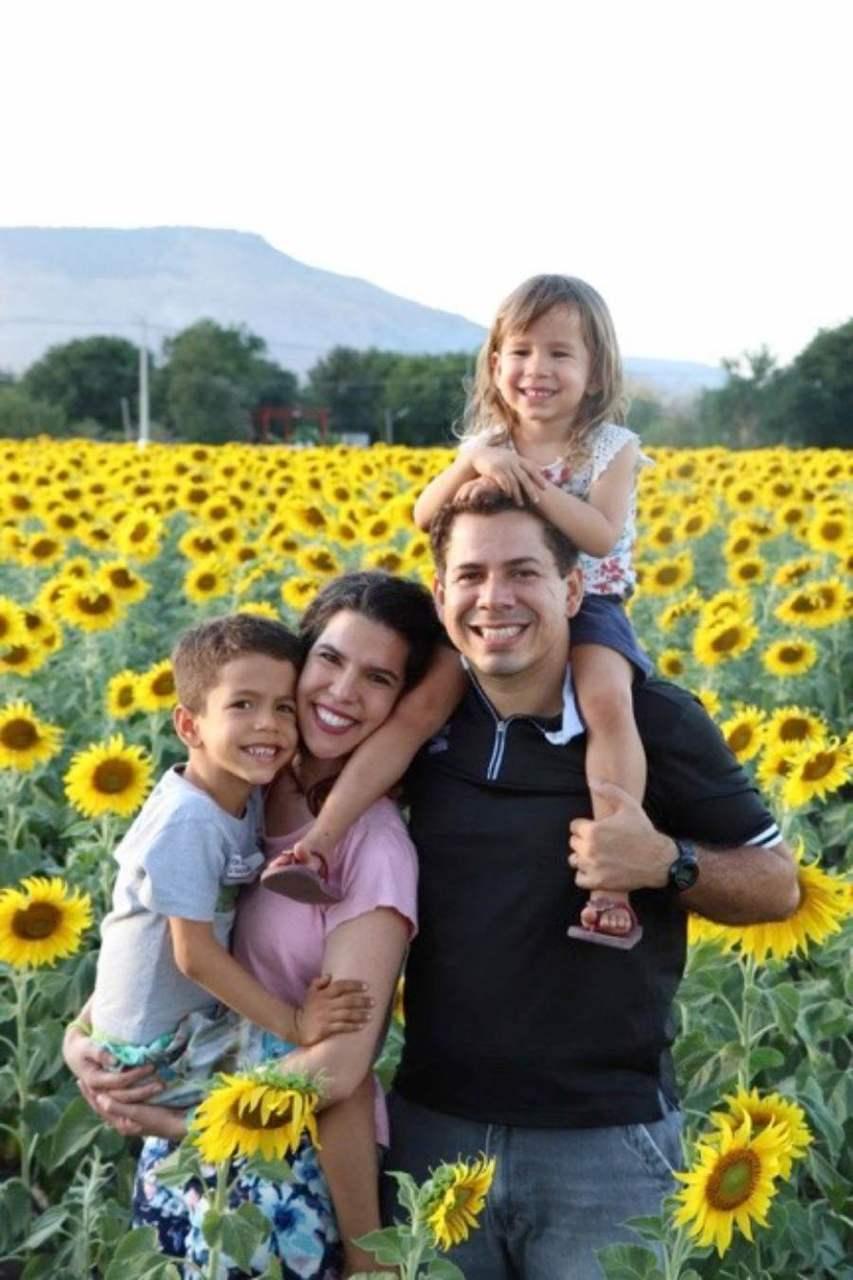 Ana Cecília e familia - Tailândia