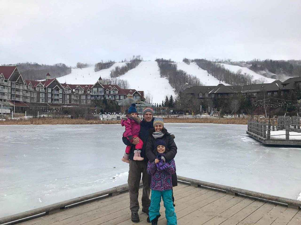 Juliane e família, Toronto/Canadá