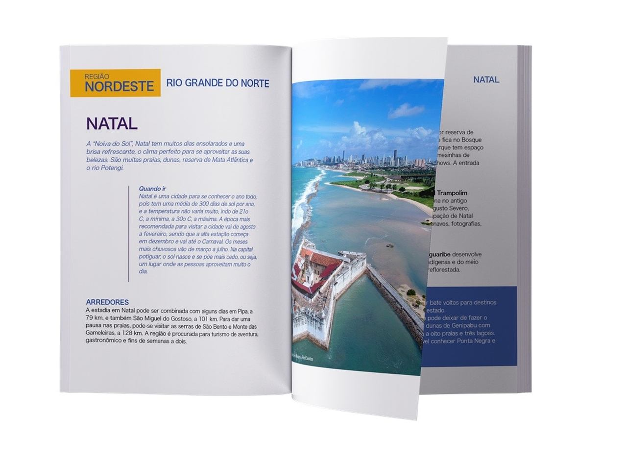 Guia de Viagens - Redescobrindo Nosso Brasil