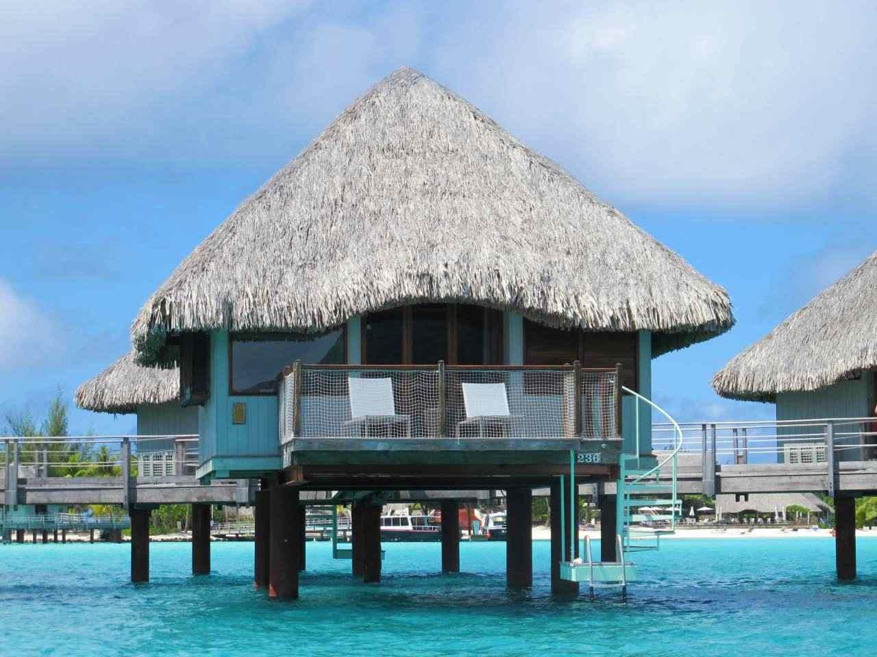 Bangalô na Ilha de Bora Bora - Le Meridien