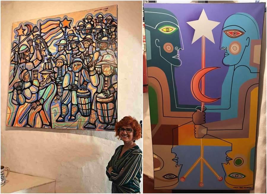 Pinturas de Carlos Paez Vilaró