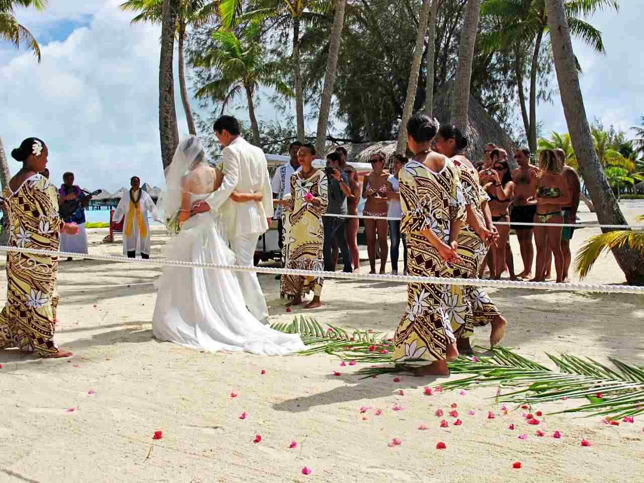 Casamento Tradicional Polinésia Francesa