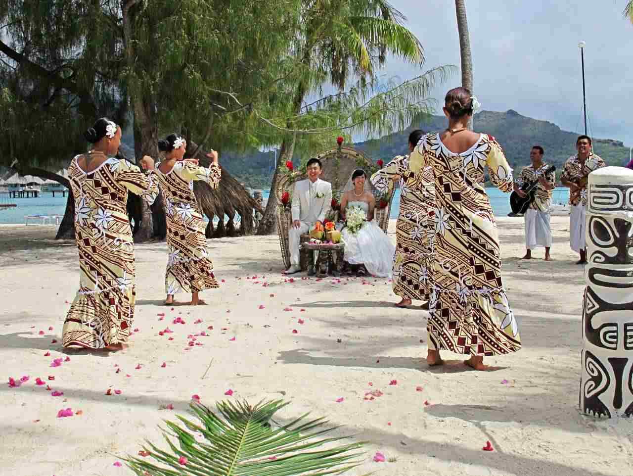 Casamento numa ilha paradisíaca - Bora Fora