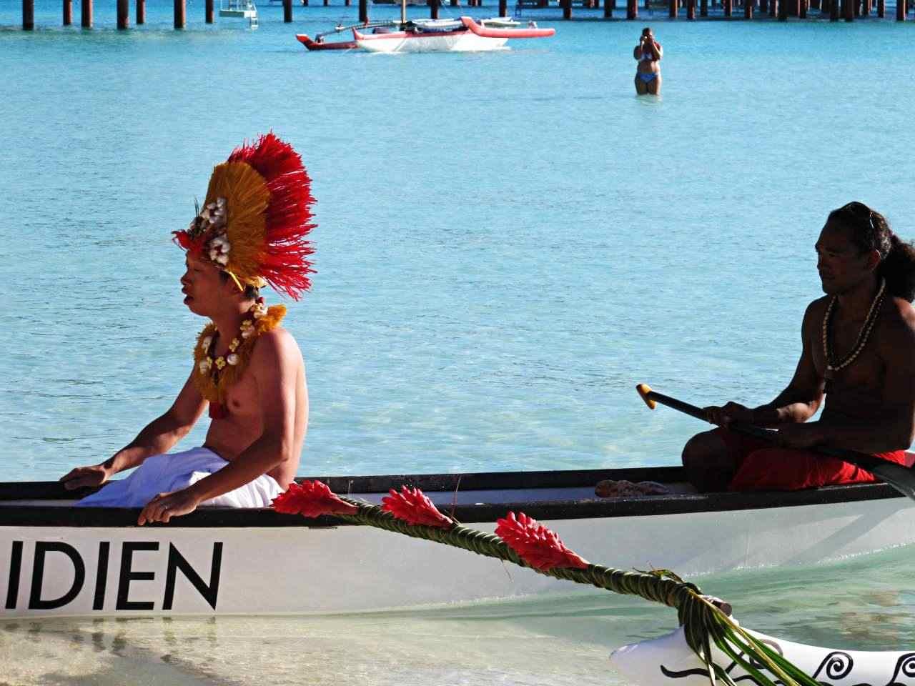 Casamento Típico Bora Bora - Polinesia Francesa