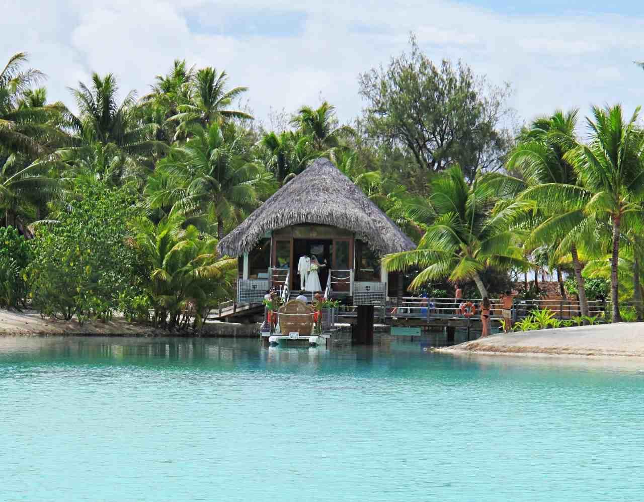 Casamento tradicional em Bora Bora