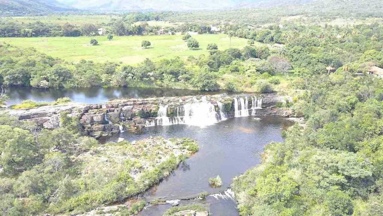 Cachoeira Grande - Serra do Cipó - Zareia