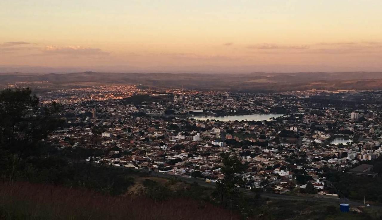 Pôr do Sol na Serra de Santa Helena