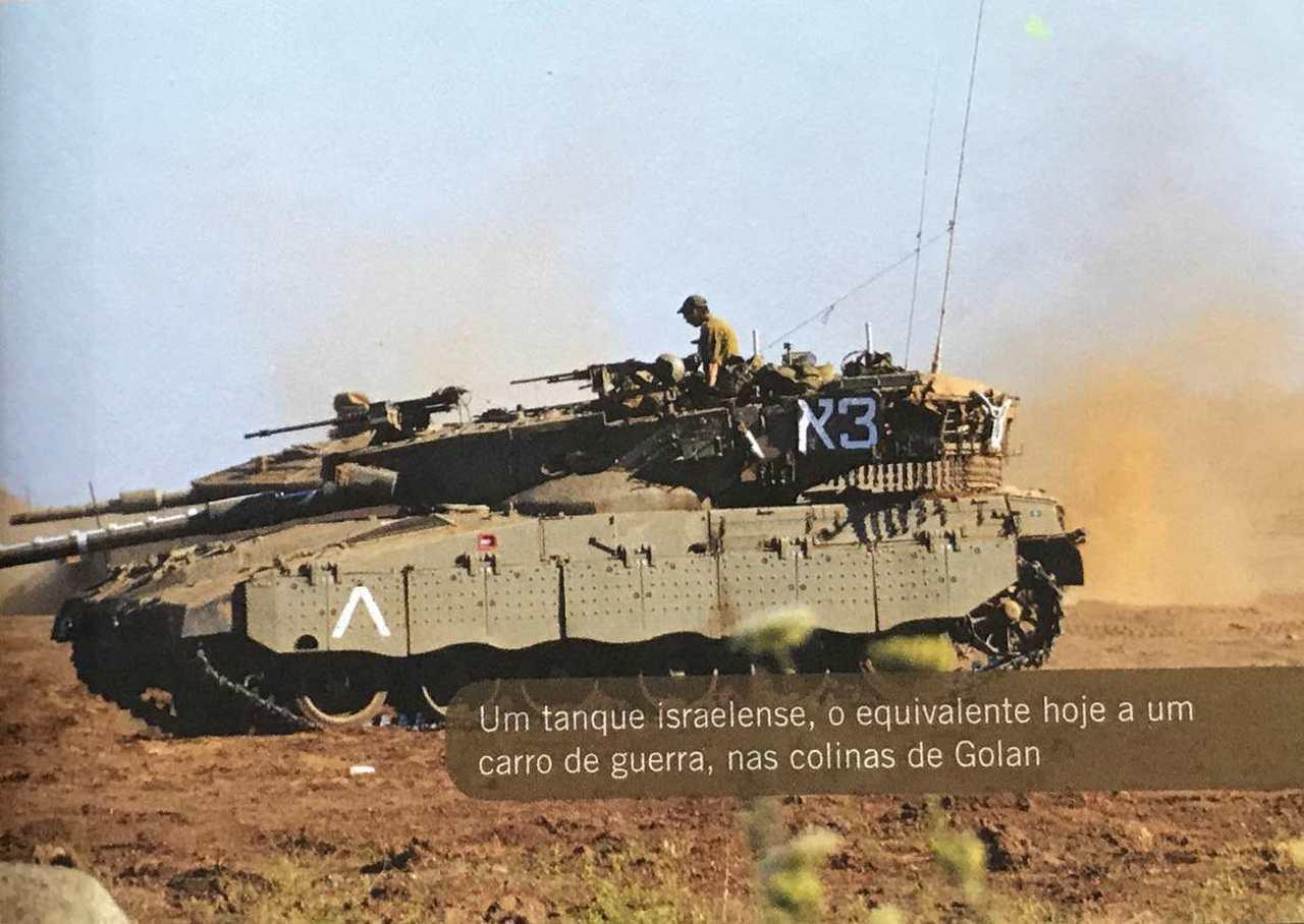 Tanque de Guerra - 30 dias na Terra dos Salmos Cap 4