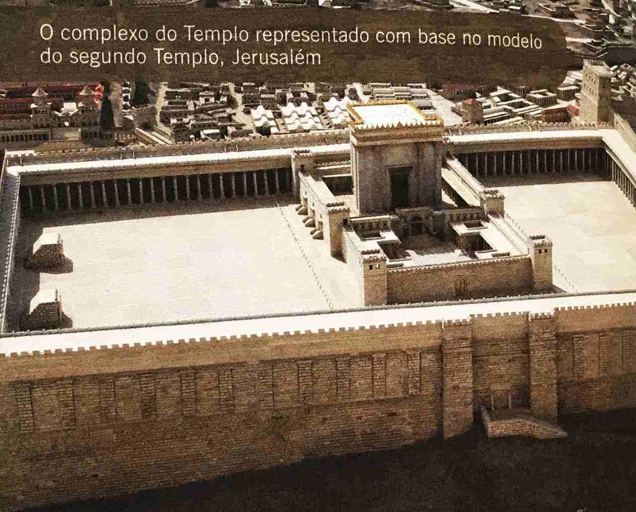 30 dias na terra dos Salmos - Templo de Jerusalém