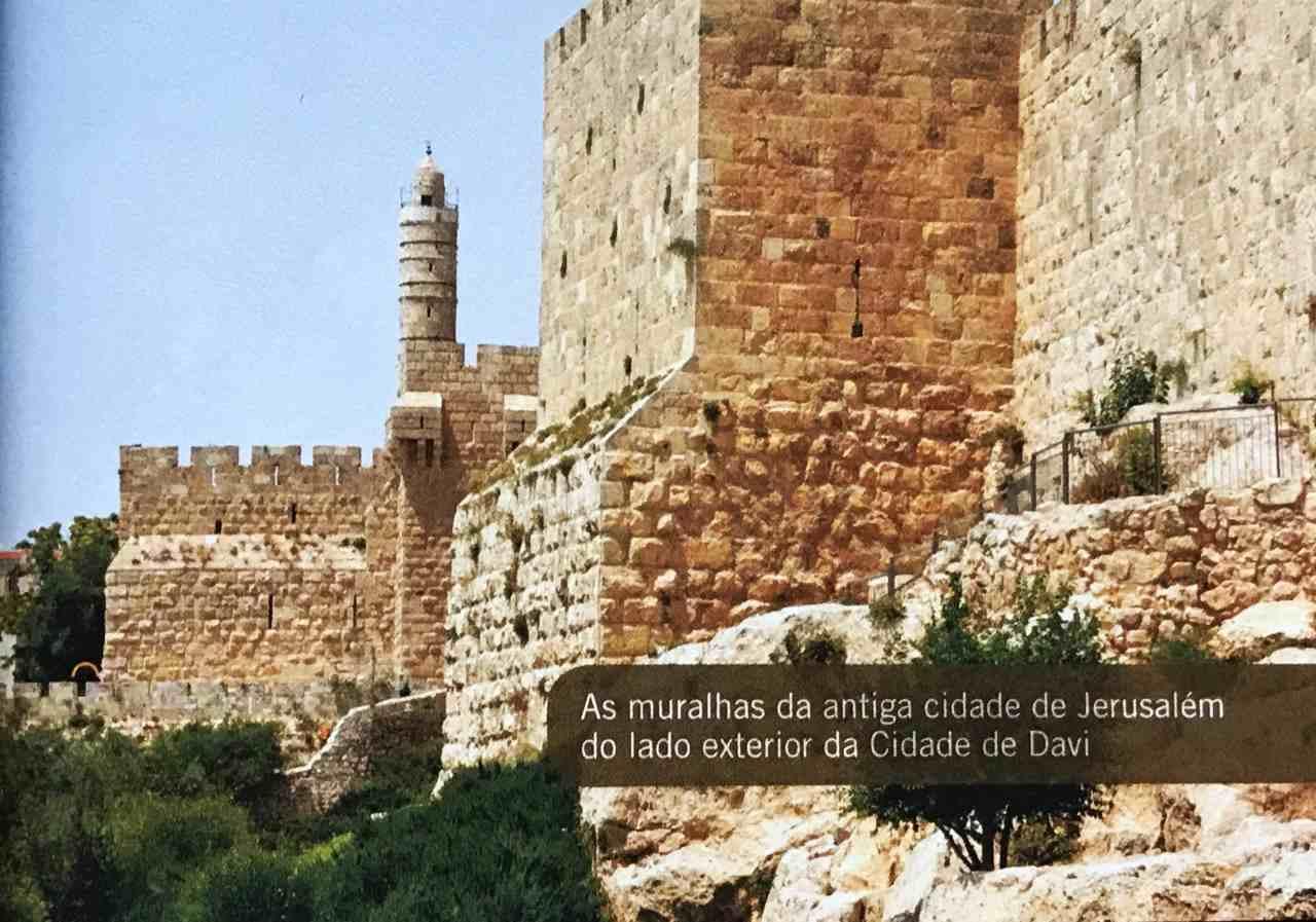 30 dias na terra dos Salmos - Muralhas de Jerusalém