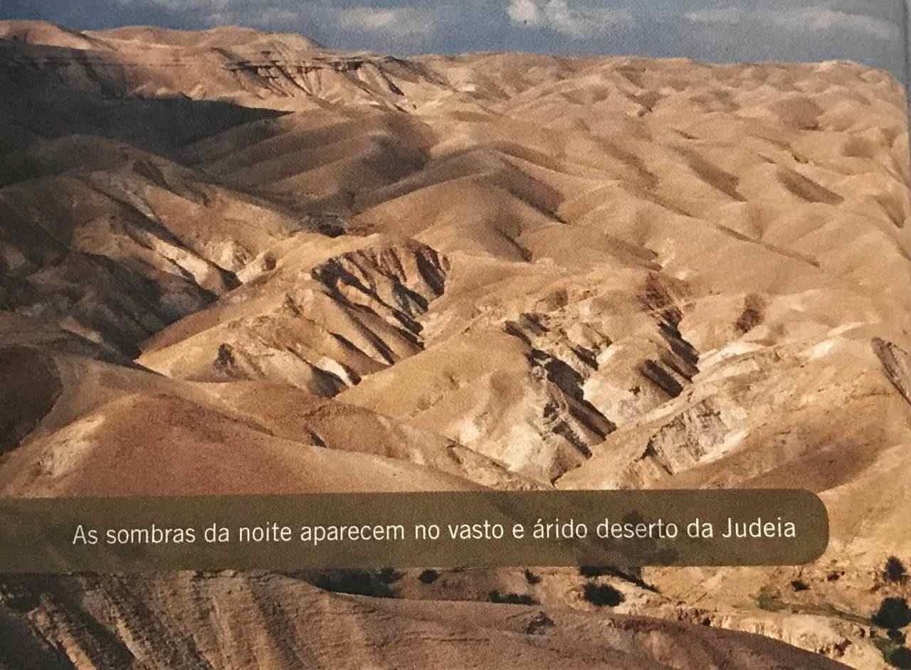 30 dias na terra dos Salmos - deserto da Judeia