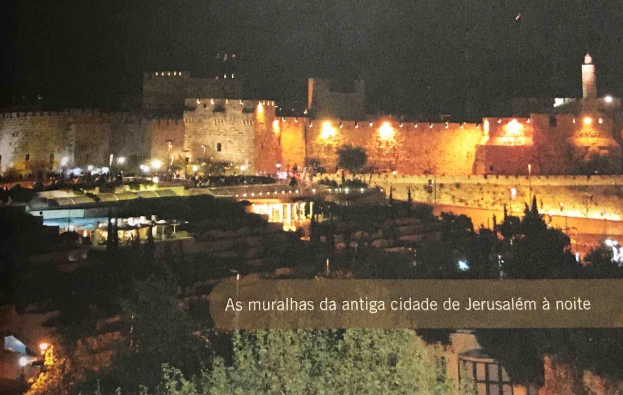 30 dias na terra dos Salmos - Muralhas da antiga Jerusalém