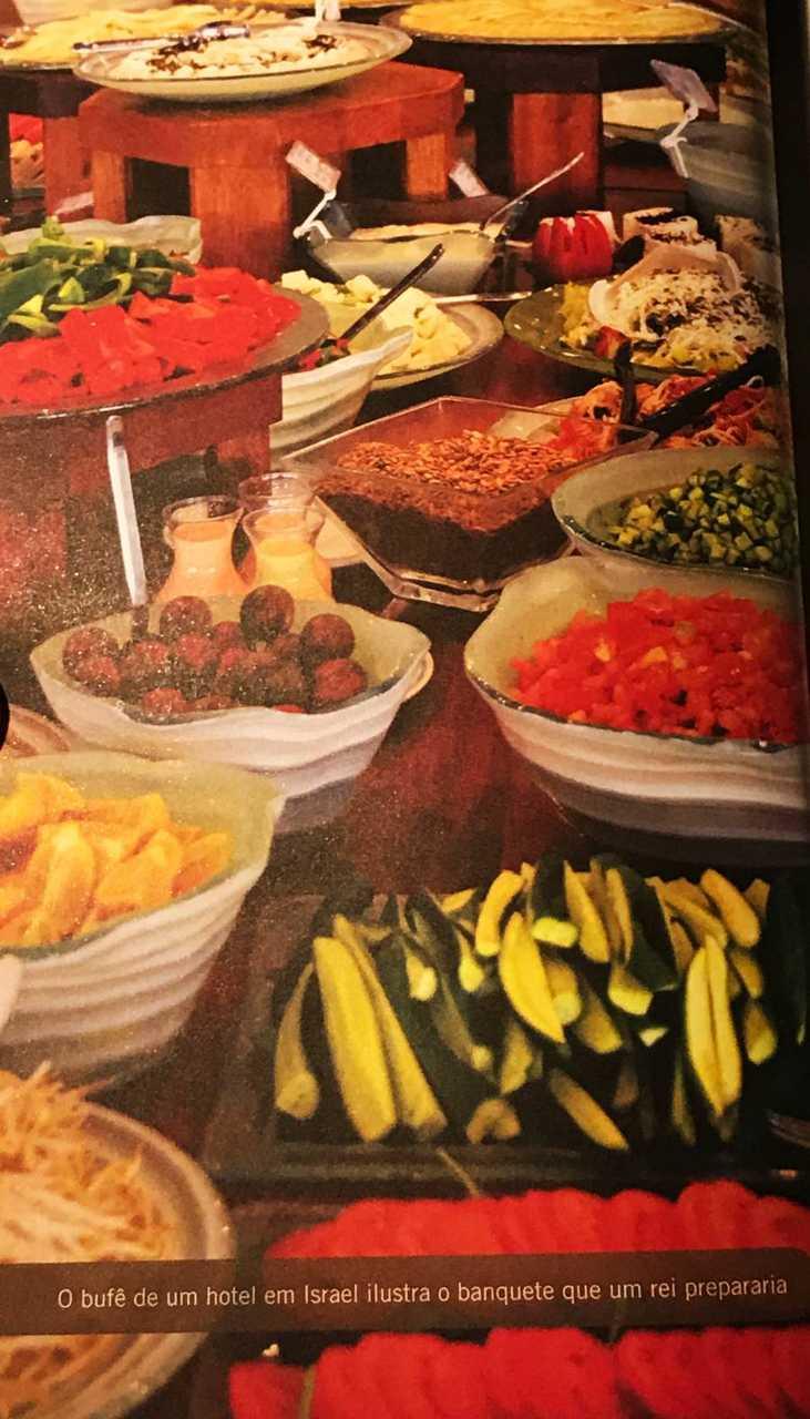 30 dias na terra dos Salmos - buffet hotel