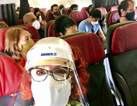 Viajar de avião em tempos de COVID-19