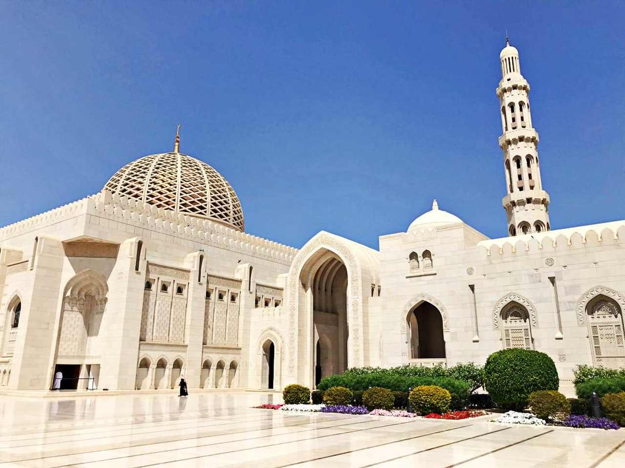 Sultan Qaboos Mosque Muscate